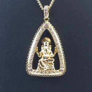 Jewelry - 💞 14K GP Hindu Pendant + Necklace